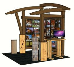New Energy Works Timberframers will unveil a new tradeshow booth at ABX in Boston in November.
